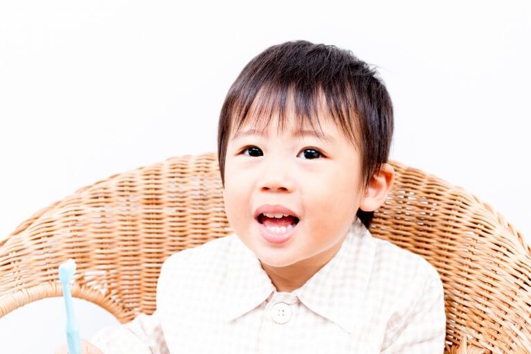 第一期矯正治療(5歳~12歳頃)